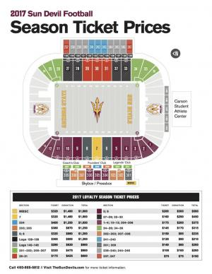 Asu stadium seating map elcho table
