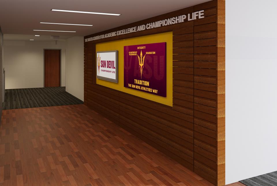 Emerson Ward CORE Construction Sun Devil Athletics Office of Student-Athlete Development
