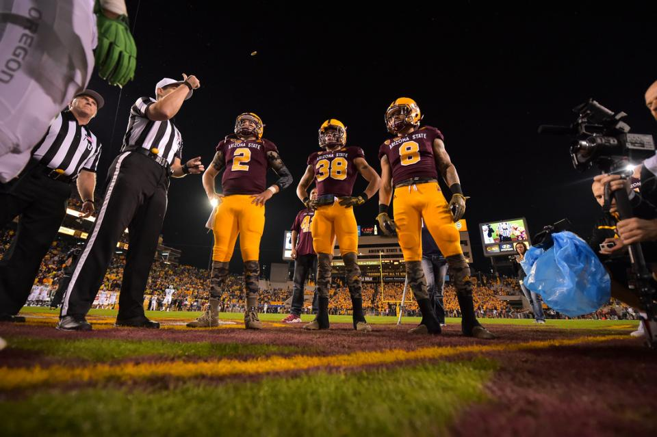 DJ Foster Maroon and Gold Arizona State University