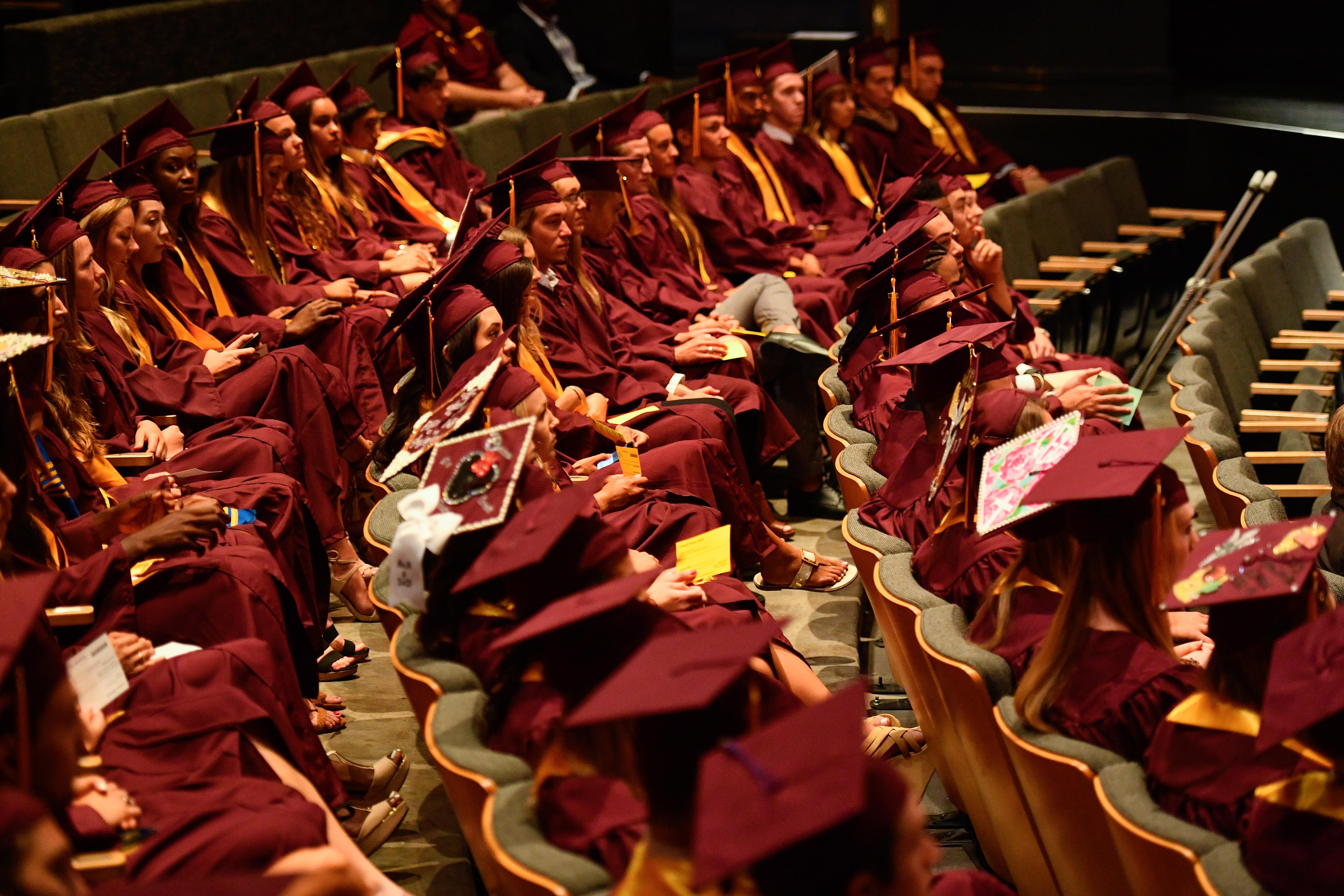 Sun Devil Athletics graduation
