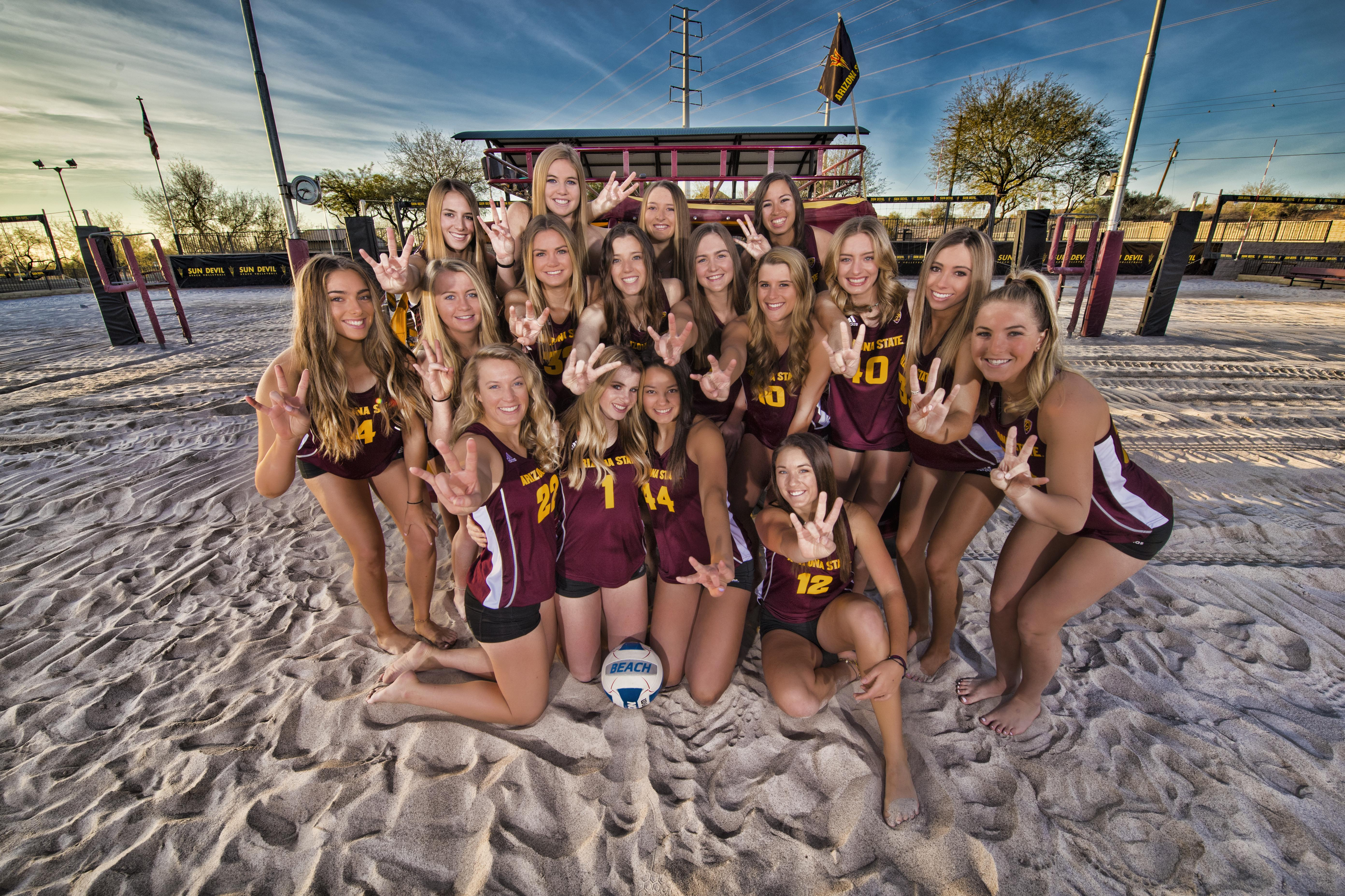 Supporting Arizona State Student Athletes Since 1947 Beach Volleyball Sun Devil Club