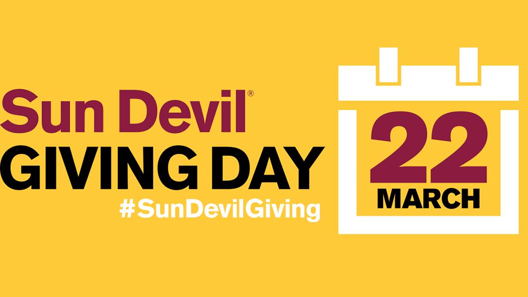 Sun Devil Giving Day Sun Devil Athletics