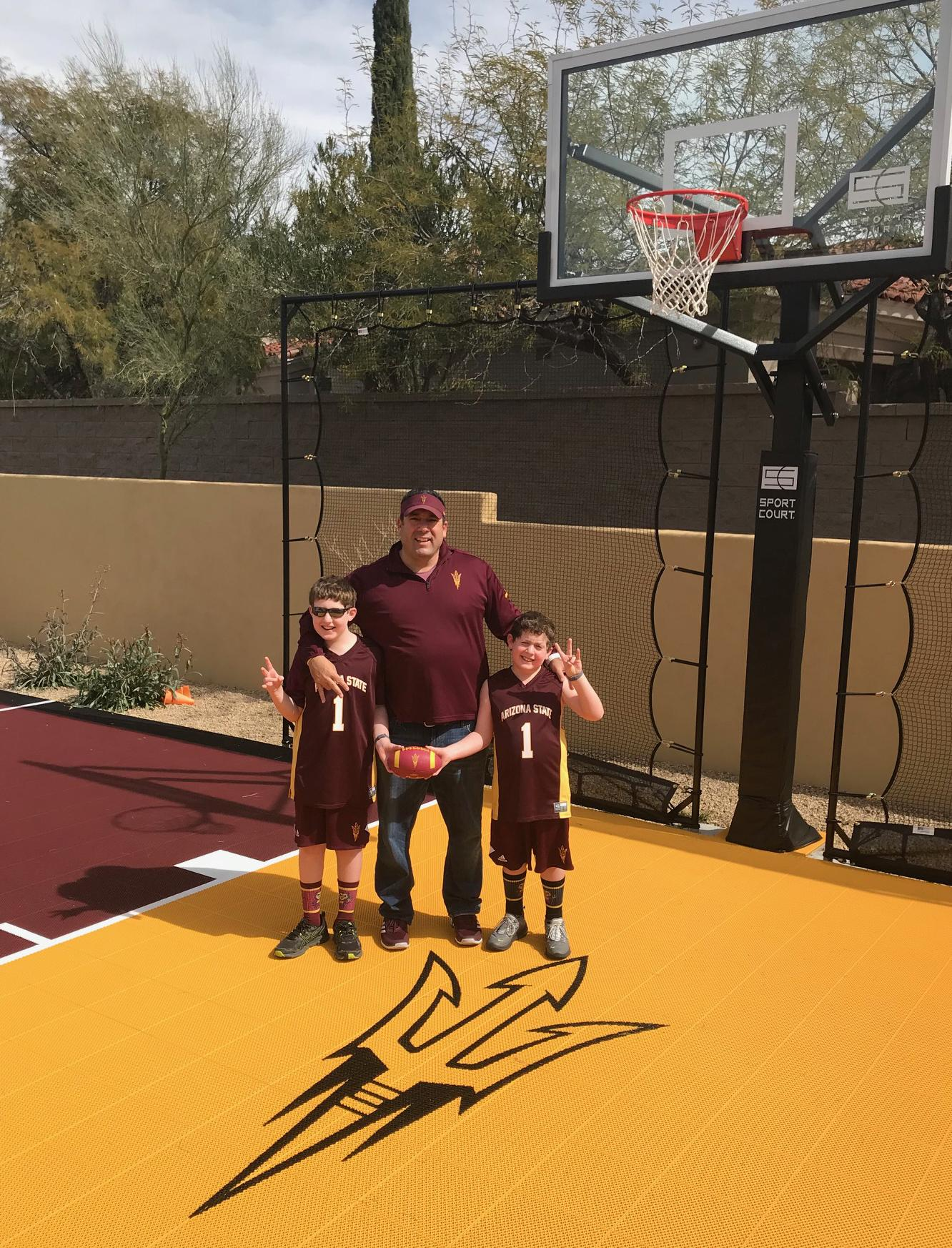 Goldberg family supports Sun Devil Athletics, in their backyard and in the community
