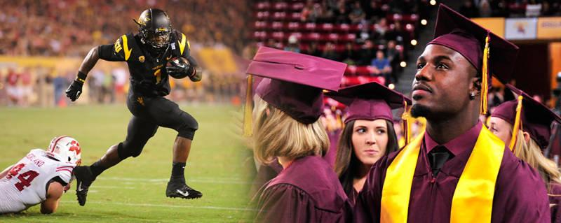 Marion Grice graduates Arizona State University