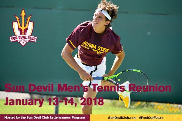 Sun Devil Men's Tennis Reunion
