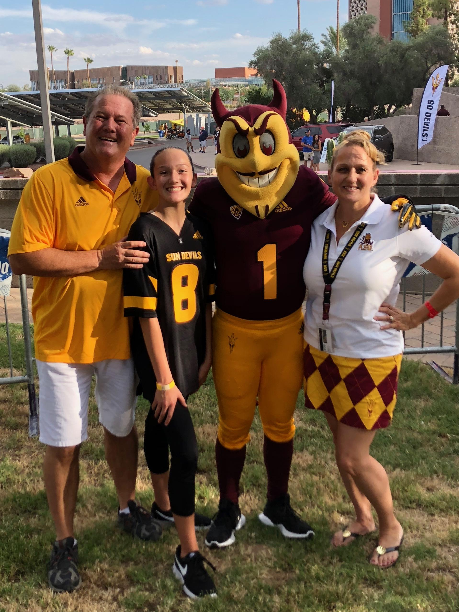 Miller Family Sun Devil Athletics Sun Devil Club Arizona State University