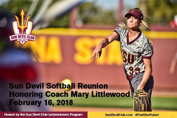 Arizona State Sun Devil Softball Mary Littlewood