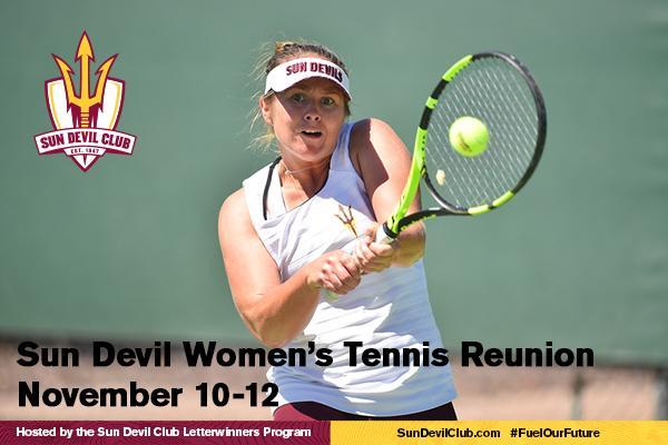 Sun Devil Women's Tennis Reunion